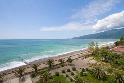Пансионат Amza Park Hotel / Амза  (ex. Энергетик),Пляж