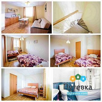 Апартаменты 4-местные 2-уровневые в коттедже, фото 2