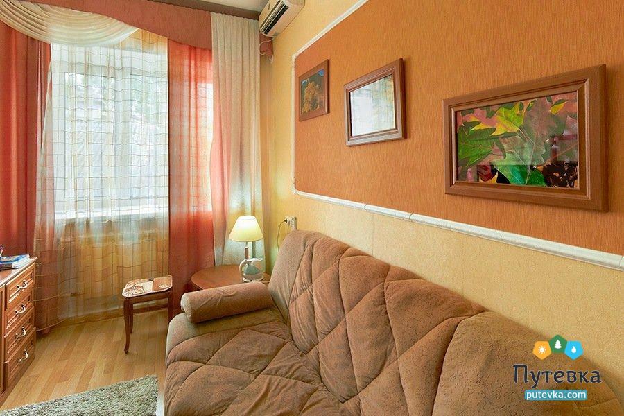 Люкс семейный 1-местный 2-комнатный, фото 2