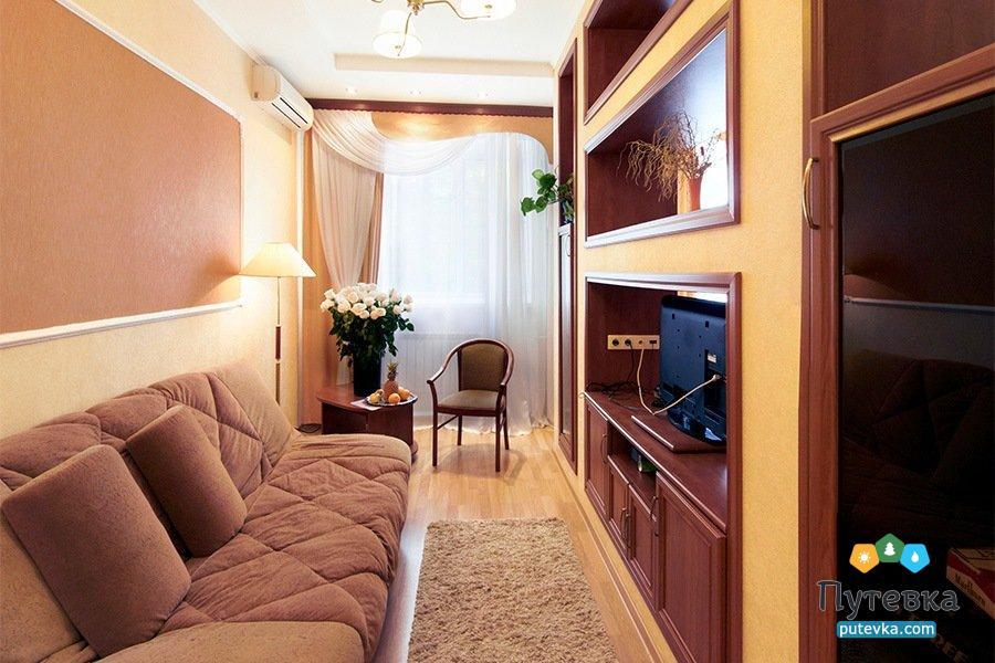 Люкс студия 1-местный 2-комнатный, фото 3