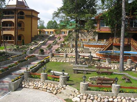Туристский комплекс Заимка,Внешний вид