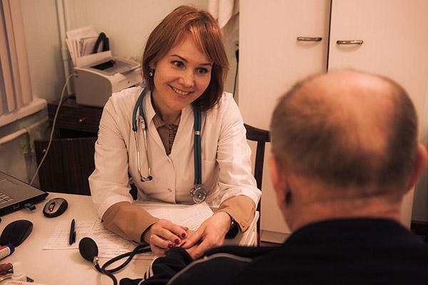 Врач кардиолог Трухина Е. И. 3 главврач
