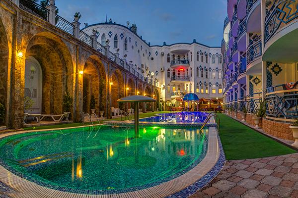 Отель 1001 ночь,Территория