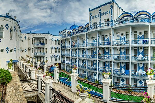 Отель 1001 ночь,Внешний вид