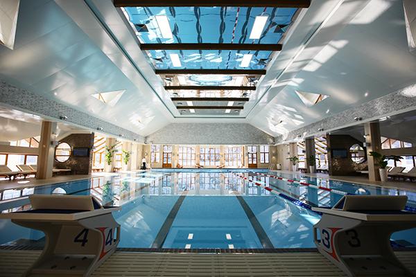 Отель Гранд отель Поляна ,Крытый бассейн корпуса С