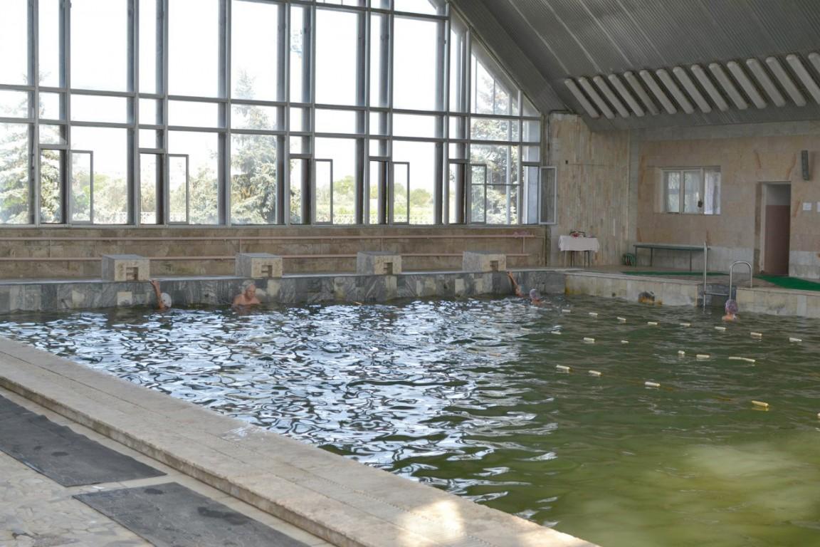 Оздоровительно-лечебный центр-пансионат Северный,Крытый бассейн с минеральной водой