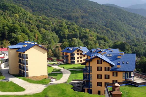 Отель Катерина-Альпик,Внешний вид