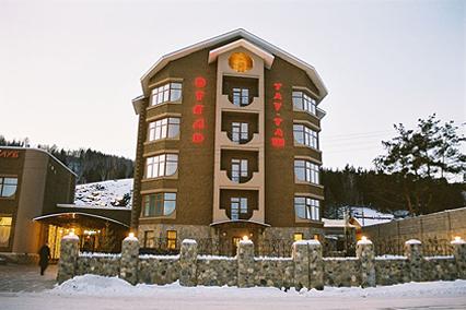 Гостиничный комплекс Тау-Таш ,Внешний вид