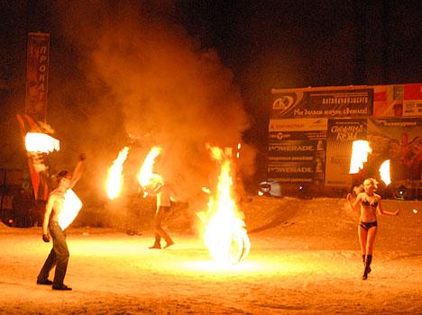 Санаторий Катунь ,Новогодние гуляния