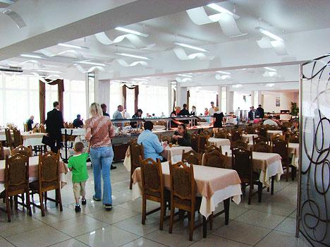 Санаторий Сибирь ,Ресторан