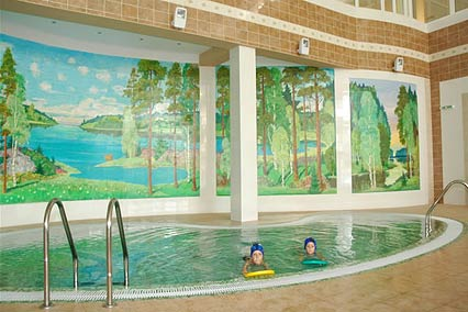 Санаторий Виктория,Детский бассейн