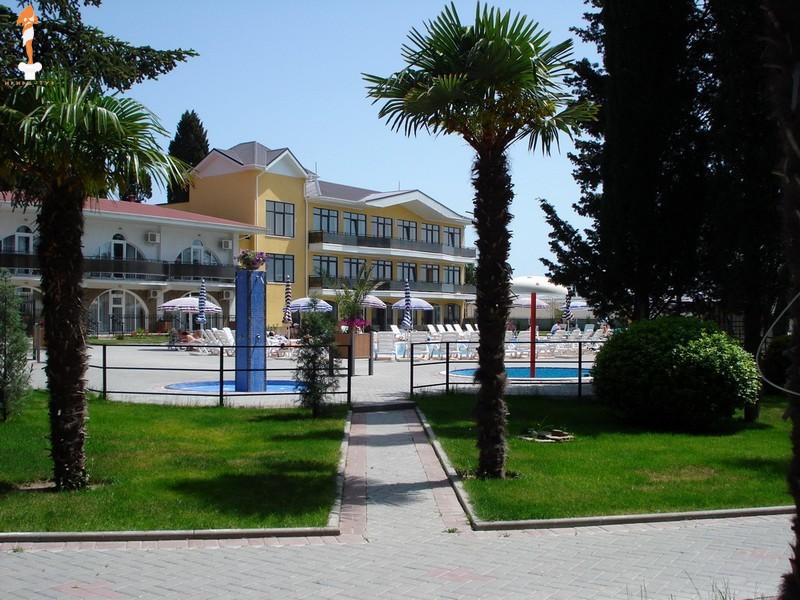 Парк-отель Демерджи,Вид на корпуса и территорию