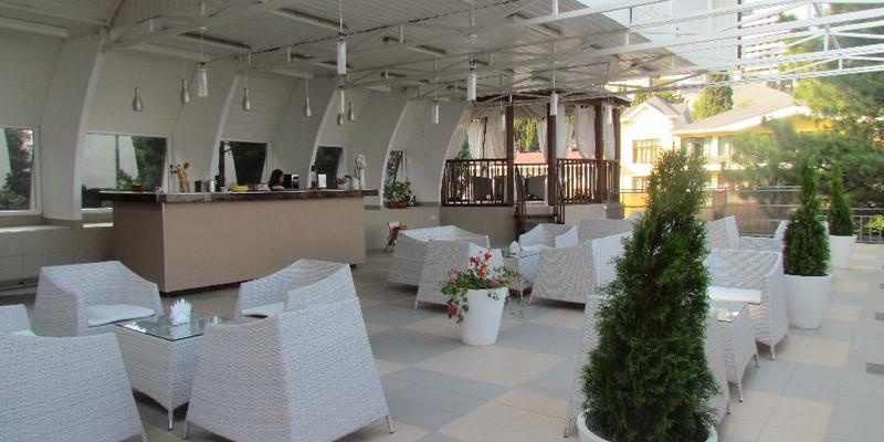 Парк-отель Демерджи,Бар Веранда