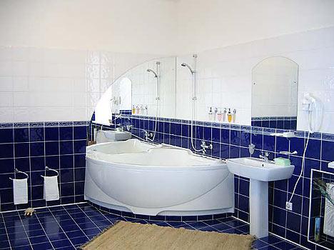 Отель Валдайские зори,Санузел в апартаментах