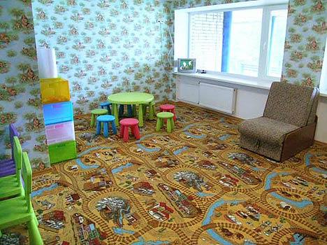 Отель Валдайские зори,Детская комната