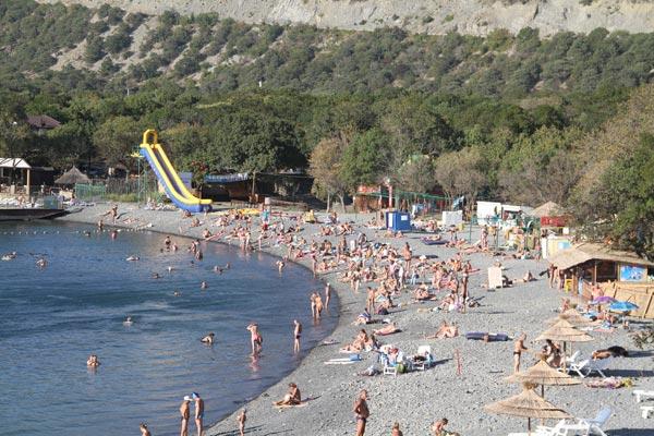 Отель Калифорния,Пляж