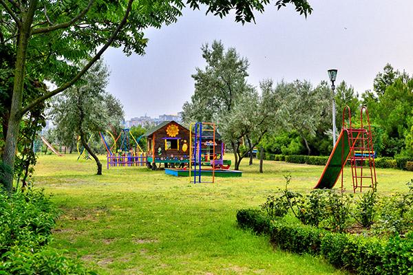 Пансионат с лечением Крымское Приазовье,Детская площадка