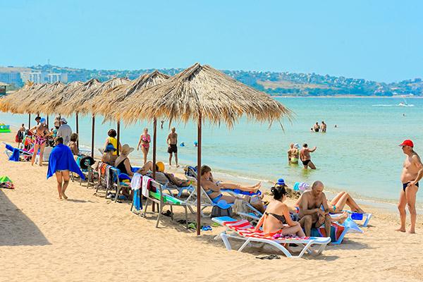 Пансионат с лечением Крымское Приазовье,Пляж