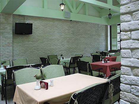 Отель Ozon Семь вершин,Кафе