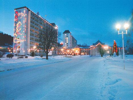 Санаторий Белокуриха,Санаторий зимой