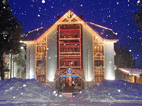 Отель Ozon Cheget, Приэльбрусье,Внешний вид