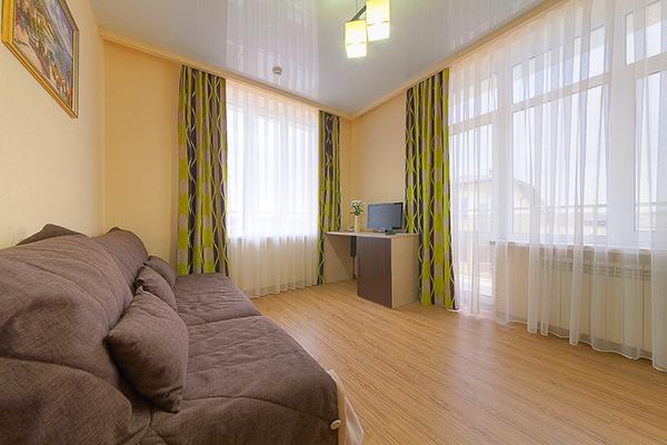 Отель Ателика Гранд Меридиан,Люкс 2-местный 2 комнатный