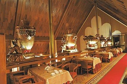 Гостиница Турцентр,Ресторан «Купеческий»