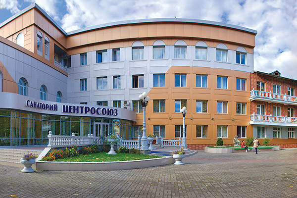 Санаторий Центросоюз РФ г.Белокуриха,Внешний вид