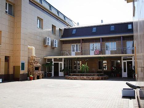 Гостиница Южный Город,Внешний вид