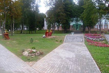 Санаторий Белорусочка,Территория