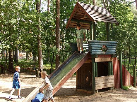 Санаторий Летцы,Детская площадка