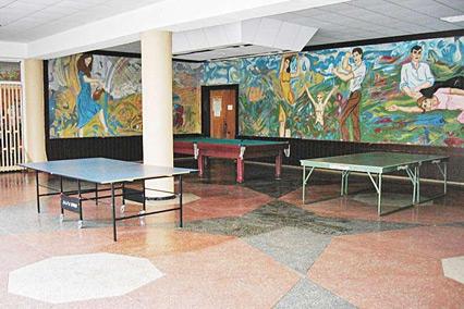 Санаторий Буг,Холл 1 корпус