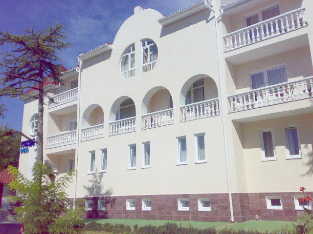 Отель Русское Море,Внешний вид здания