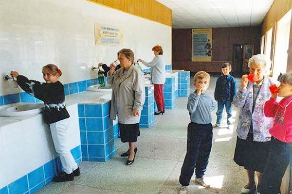 Пансионат с лечением Карагайский бор ,Питьевой бювет