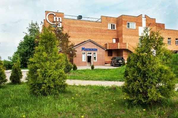 Санаторий Старица,Территория