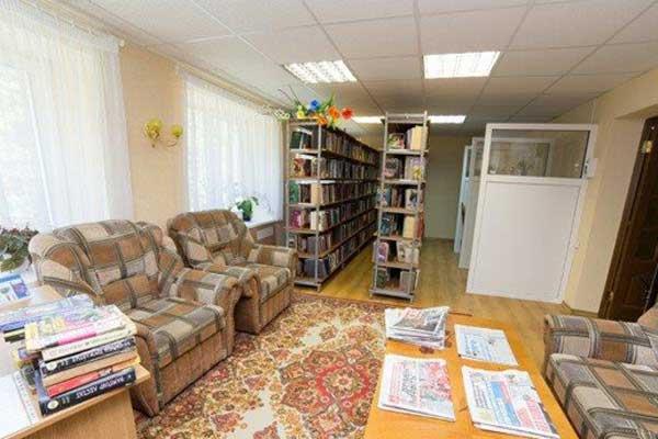 Санаторий Журавушка,Библиотека