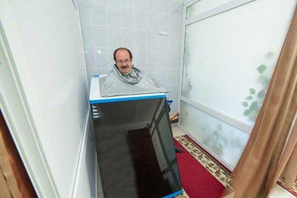 Сухие углекислые ванны