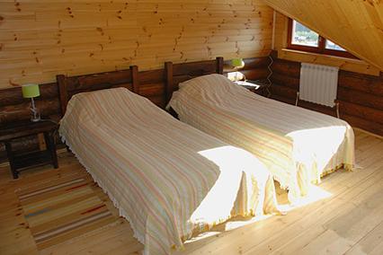 Отель Горки ,Спальня