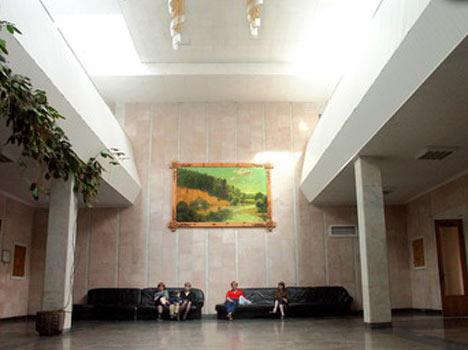 Санаторий Приднепровский,Холл