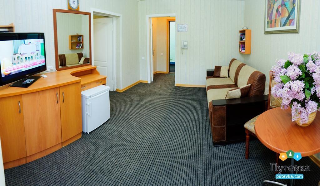 Фото номера Люкс 2-местный 2-комнатный, 3