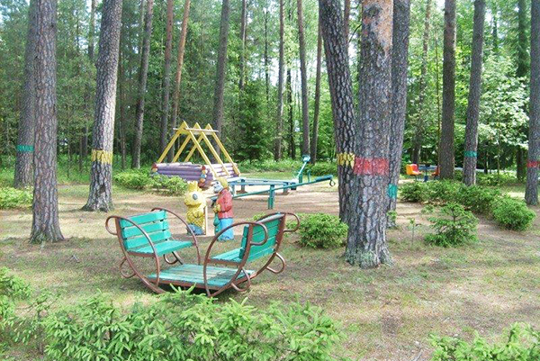 Санаторий Лепельский Военный,Детская площадка