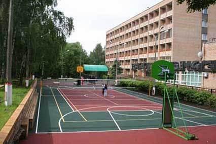 Санаторий Сосны ВОС,Спортивная площадка