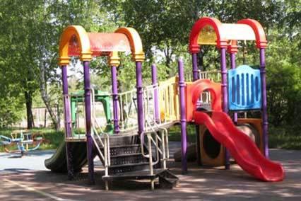 Санаторий Сосны ВОС,Детская площадка