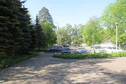 Санаторий Сосны ВОС,Парковка