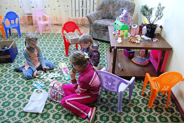 Санаторий Поречье,Детская комната