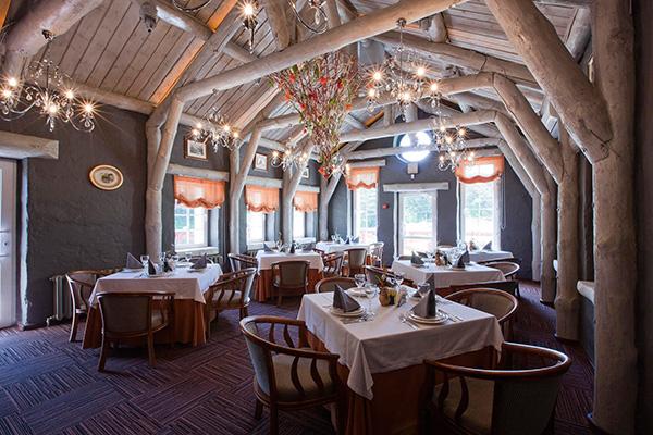 Ресторан Трапеза в эко-отеле
