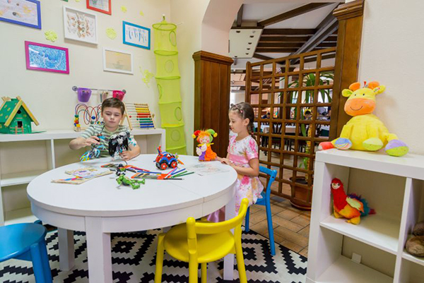 Детская комната в ресторане