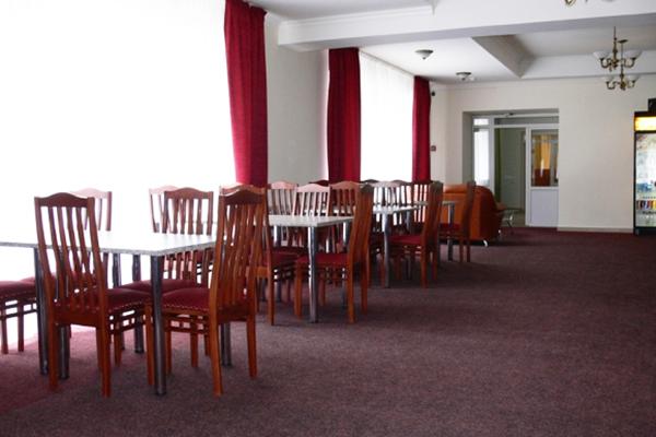 Гостиница Снежный Барс ,Ресторан