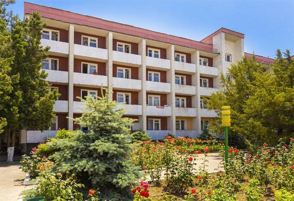 Пансионат Золотой берег,Основной 4-этажный корпус