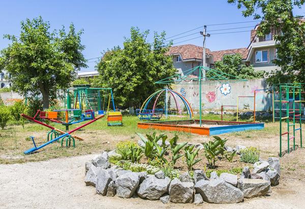 Пансионат Золотой берег,Детская площадка